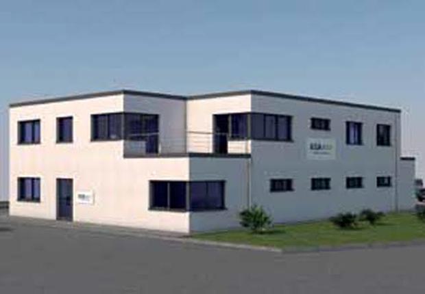 Neubau für Verwaltung und Recyclinghof. (Foto: Arbeitsgemeinschaft Arbeit e.V. )